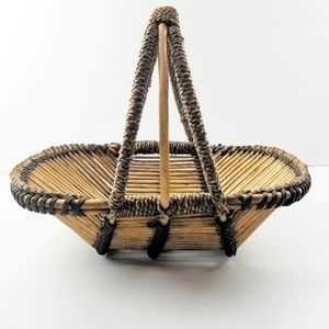 Flower Trug Wicker Basket